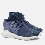 Мужские кроссовки adidas Originals Tubular Doom Primeknit Super Purple/Collegiate Navy/Vintage White фото- 2