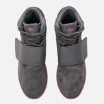 Кроссовки adidas Originals Tubular Invader Strap Grey Four/Grey Four/Raw Pink фото- 4