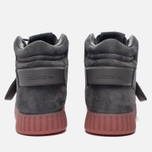 Кроссовки adidas Originals Tubular Invader Strap Grey Four/Grey Four/Raw Pink фото- 5