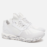 Мужские кроссовки adidas Originals Tubular Runner Vintage White/Clear Granite фото- 1