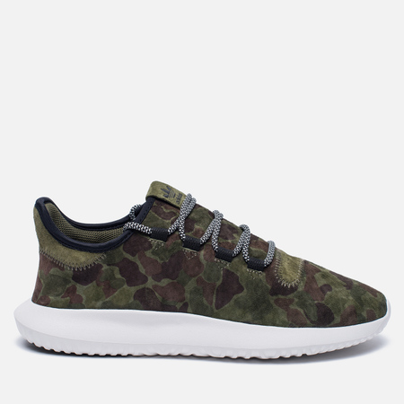 Мужские кроссовки adidas Originals Tubular Shadow Duck Camo Olive Cargo/White