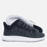 Мужские кроссовки adidas Originals Tubular Shadow Knit Core Black/Utility Black/Vintage White фото- 2