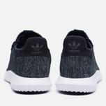 Мужские кроссовки adidas Originals Tubular Shadow Knit Core Black/Utility Black/Vintage White фото- 3