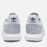 Мужские кроссовки adidas Originals Tubular Shadow Knit White/Black фото- 5