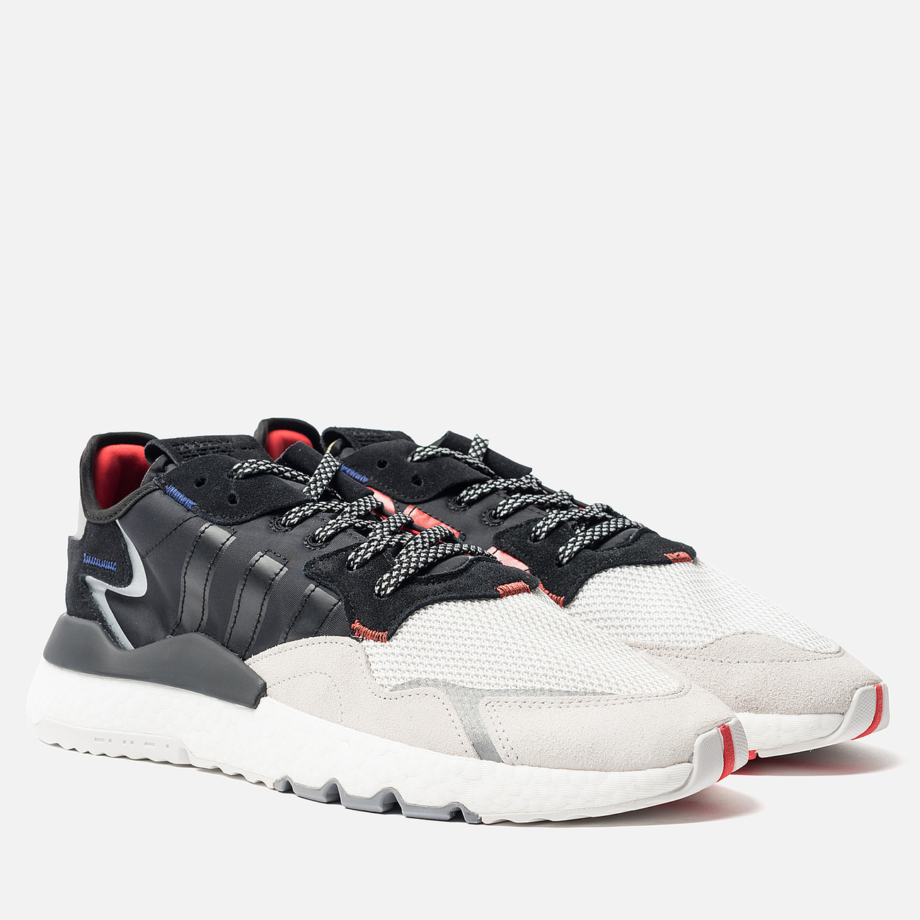 Мужские кроссовки adidas Originals x 3M Nite Jogger Reflective Core Black/Core Black/Crystal White