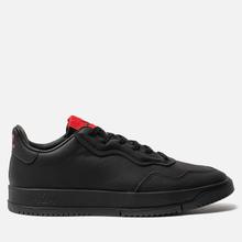 Мужские кроссовки adidas Originals x 424 Supercourt Premiere Black/Black/Scarlet фото- 3