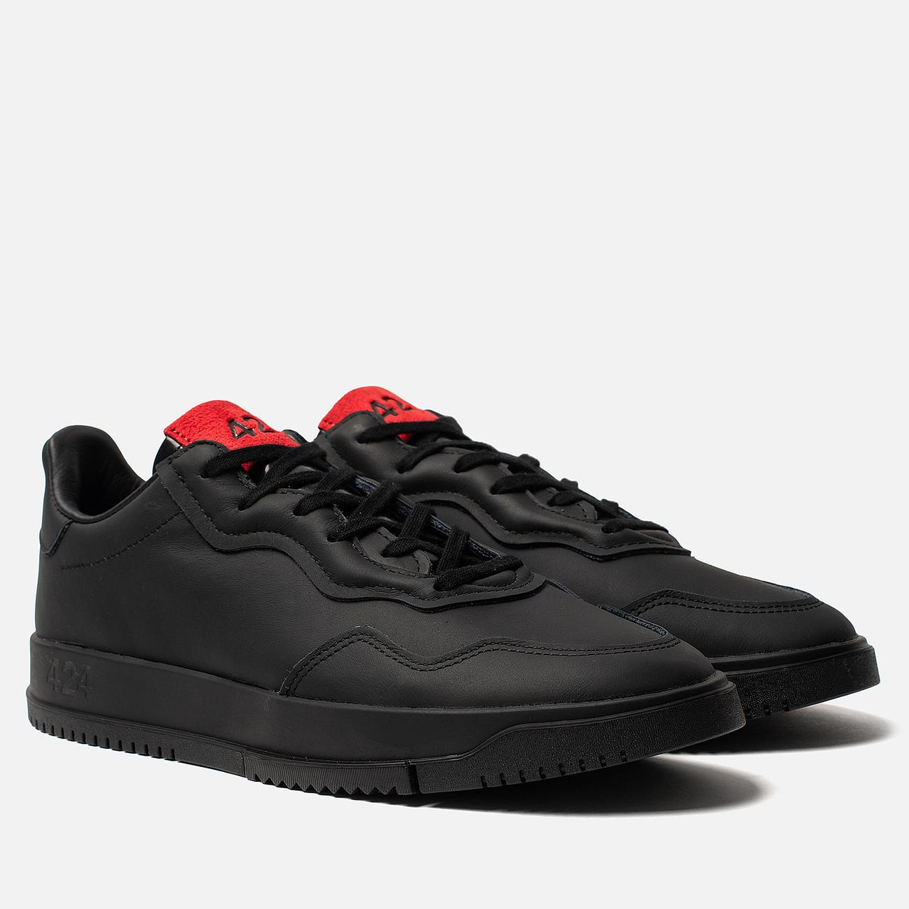 Мужские кроссовки adidas Originals x 424 Supercourt Premiere Black/Black/Scarlet