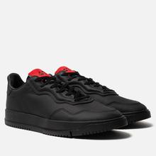 Мужские кроссовки adidas Originals x 424 Supercourt Premiere Black/Black/Scarlet фото- 0