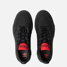 Мужские кроссовки adidas Originals x 424 Supercourt Premiere Black/Black/Scarlet фото- 1