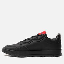 Мужские кроссовки adidas Originals x 424 Supercourt Premiere Black/Black/Scarlet фото- 5
