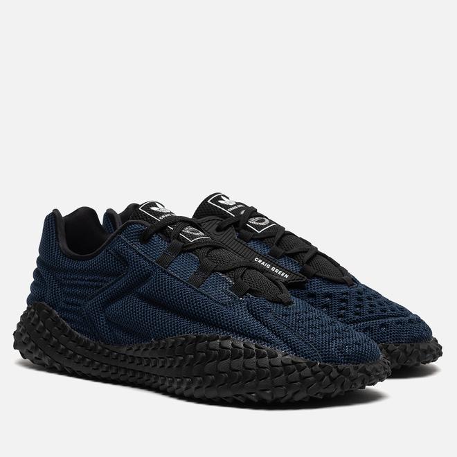 Мужские кроссовки adidas Originals x Craig Green Kontuur I Collegiate Navy/Collegiate Navy/Collegiate Navy