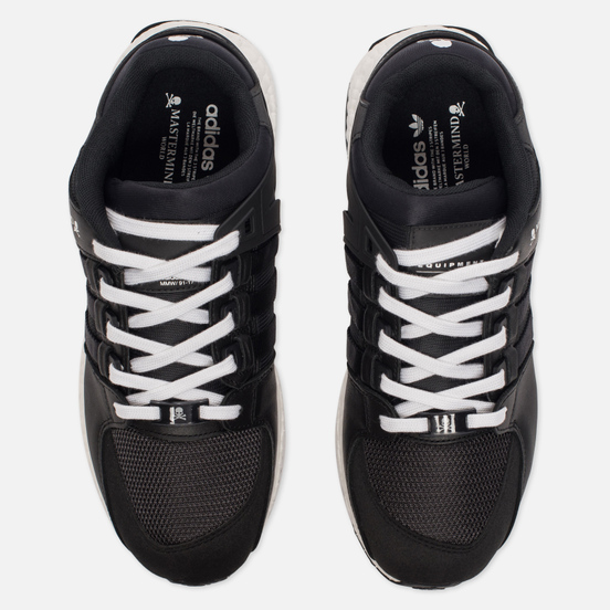 Мужские кроссовки adidas Originals x Mastermind World EQT Support Ultra Black