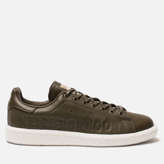 Мужские кроссовки adidas Originals x Neighborhood Stan Smith Boost Trace Olive/White