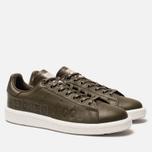 Мужские кроссовки adidas Originals x Neighborhood Stan Smith Boost Trace Olive/White фото- 2