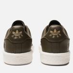 Мужские кроссовки adidas Originals x Neighborhood Stan Smith Boost Trace Olive/White фото- 3