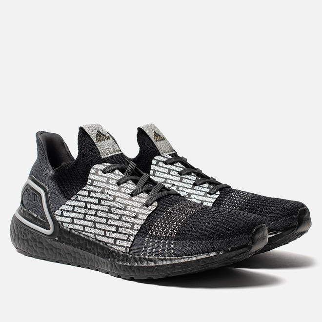 Мужские кроссовки adidas Performance x Neighborhood Ultra Boost 19 Core Black/Core Black/White