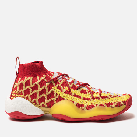 b7e5f548327f Мужские кроссовки adidas Originals x Pharrell Williams Crazy Byw Chinese  New Year Red Yellow