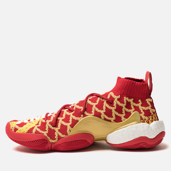 Мужские кроссовки adidas Originals x Pharrell Williams Crazy Byw Chinese New Year Red/Yellow