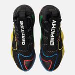 Мужские кроссовки adidas Originals x Pharrell Williams Crazy Byw LVL Core Black/Green/Supplier Colour фото- 3