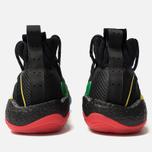Мужские кроссовки adidas Originals x Pharrell Williams Crazy Byw LVL Core Black/Green/Supplier Colour фото- 4