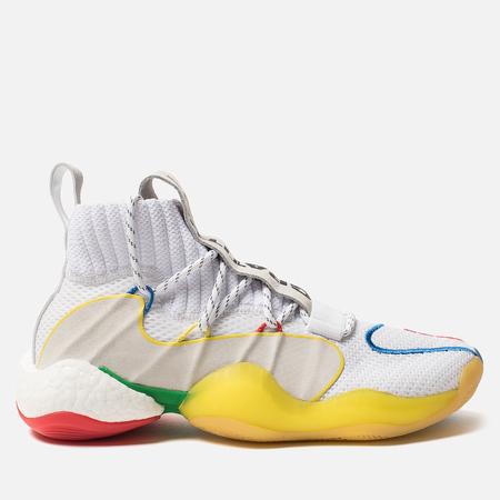 43b89e72 Мужские кроссовки adidas Originals x Pharrell Williams Crazy Byw LVL  White/Supplier Colour
