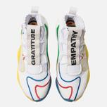 Мужские кроссовки adidas Originals x Pharrell Williams Crazy Byw LVL White/Supplier Colour фото- 5