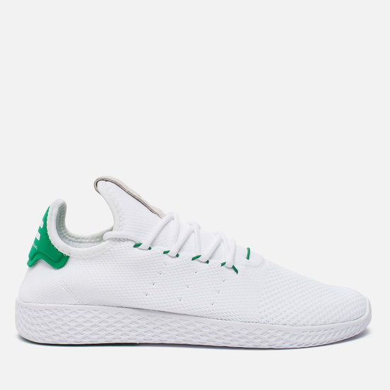 Мужские кроссовки adidas Originals x Pharrell Williams HU Tennis White/Green