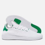 Мужские кроссовки adidas Originals x Pharrell Williams HU Tennis White/Green фото- 1
