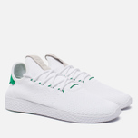Мужские кроссовки adidas Originals x Pharrell Williams HU Tennis White/Green фото- 2