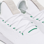 Мужские кроссовки adidas Originals x Pharrell Williams HU Tennis White/Green фото- 3