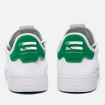 Мужские кроссовки adidas Originals x Pharrell Williams HU Tennis White/Green фото- 5