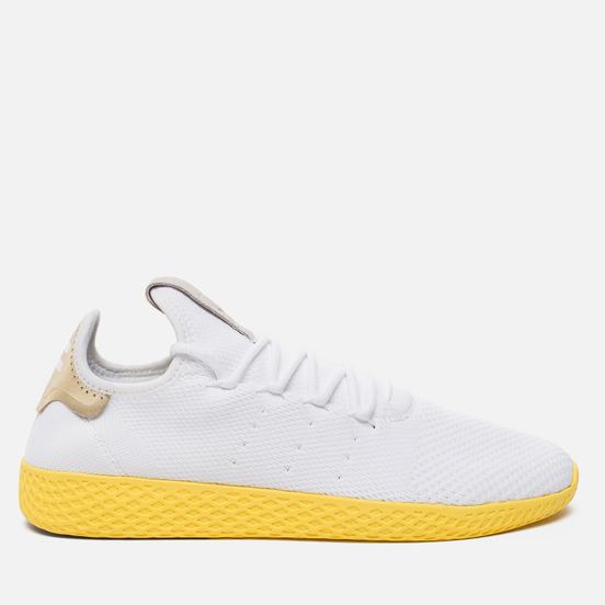 Мужские кроссовки adidas Originals x Pharrell Williams HU Tennis White/Yellow/Metallic Gold
