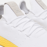 Мужские кроссовки adidas Originals x Pharrell Williams HU Tennis White/Yellow/Metallic Gold фото- 3