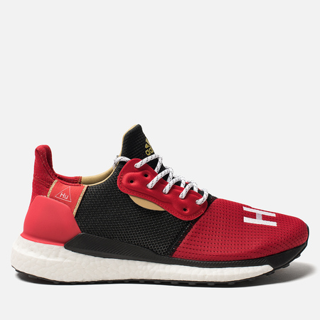 Мужские кроссовки adidas Originals x Pharrell Williams Solar HU Glide  Chinese New Year Red Core 50bde2983b3