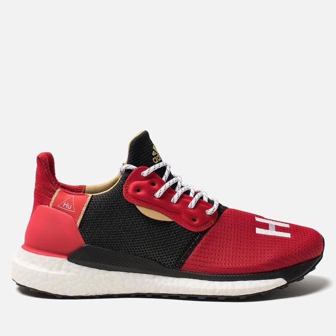 Мужские кроссовки adidas Originals x Pharrell Williams Solar HU Glide Chinese New Year Red/Core Black
