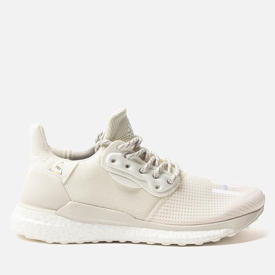 Мужские кроссовки adidas Originals x Pharrell Williams Solar HU PRD Cream White/Raw White/Off White
