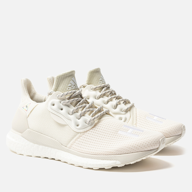 Мужские кроссовки adidas Originals x Pharrell Williams Solar HU PRD Cream White/Raw White/Off White