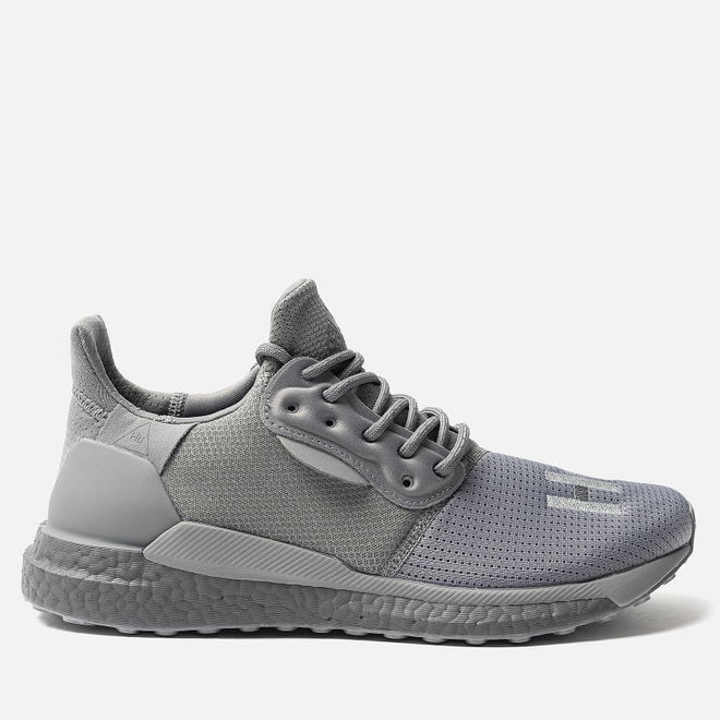 Мужские кроссовки adidas Originals x Pharrell Williams Solar HU PRD Grey Three/Grey Three/Grey Three