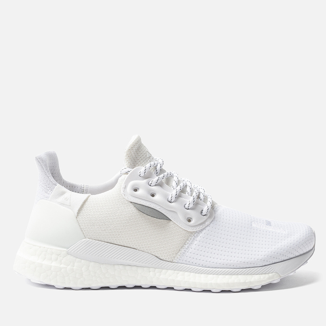 Мужские кроссовки adidas Originals x Pharrell Williams Solar HU PRD White/White/White
