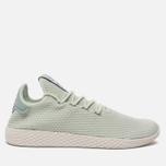 Мужские кроссовки adidas Originals x Pharrell Williams Tennis Hu Linen Green/Tactile Green фото- 0
