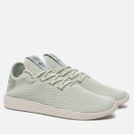 Мужские кроссовки adidas Originals x Pharrell Williams Tennis Hu Linen Green/Tactile Green фото- 2
