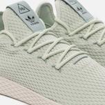 Мужские кроссовки adidas Originals x Pharrell Williams Tennis Hu Linen Green/Tactile Green фото- 3