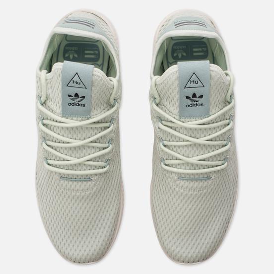 Мужские кроссовки adidas Originals x Pharrell Williams Tennis Hu Linen Green/Tactile Green