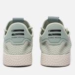 Мужские кроссовки adidas Originals x Pharrell Williams Tennis Hu Linen Green/Tactile Green фото- 5