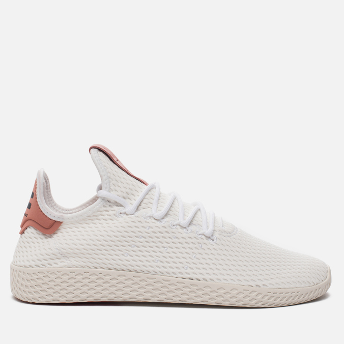 Мужские кроссовки adidas Originals x Pharrell Williams Tennis Hu Running White/Raw Pink
