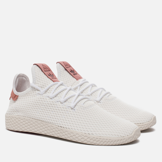 Мужские кроссовки adidas Originals x Pharrell Williams Tennis Hu Running White/Raw Pink