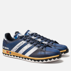 Мужские кроссовки adidas Originals x Raf Simons L.A. Stan Legend Ink/Silver Metallic/Night Navy