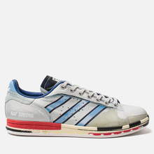 Мужские кроссовки adidas Originals x Raf Simons Micro Stan Silver Metallic/Red/Red фото- 3