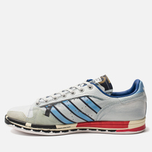 Мужские кроссовки adidas Originals x Raf Simons Micro Stan Silver Metallic/Red/Red фото- 5