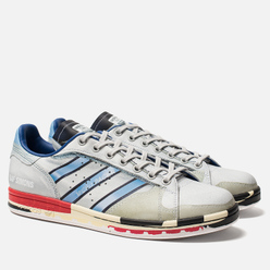 Мужские кроссовки adidas Originals x Raf Simons Micro Stan Silver Metallic/Red/Red